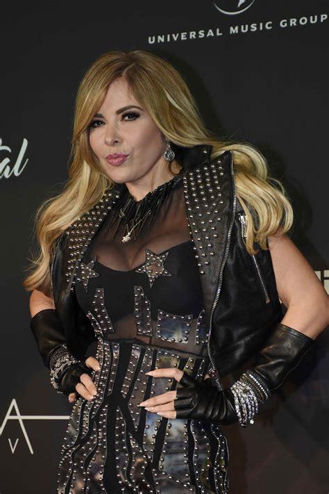 Gloria Trevi at Immortal Album Launch in Mexico City ...