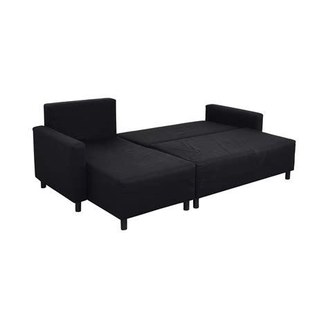 ikea ikea lugnvik sofa bed  chaise lounge