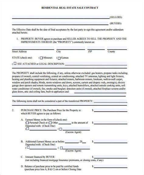 simple real estate purchase agreement template 12 simple sales contract sles templates sle templates