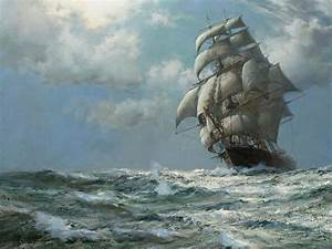 Famous Sailing Ship Paintings | paintings ocean ships ...