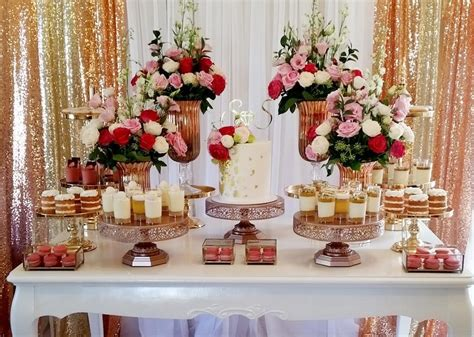 set   dessert table amalfi decor
