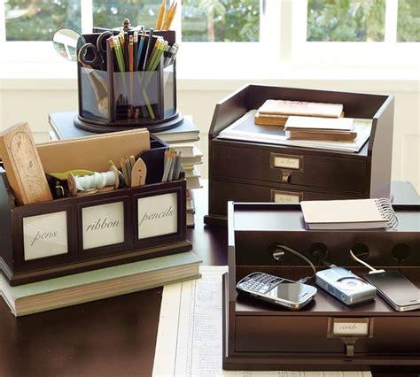 pottery barn desk organizer bedford desk accessories traditional desk accessories