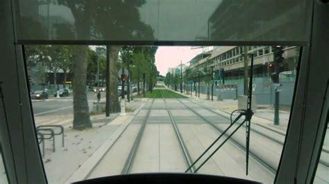 tramway de ligne t3b porte de la villette porte de la chapelle
