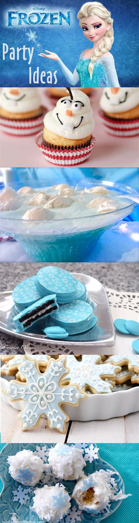 Throw A Disney Frozen Themed Party!  Brownie Bites Blog