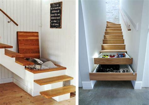 la fabrique  deco escaliers  rangement conseils pour