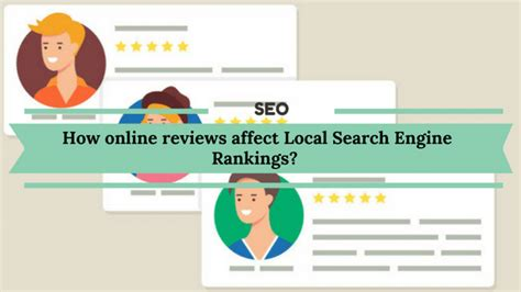 Local Search Engine Rankings by How Reviews Affect Local Search Engine Rankings