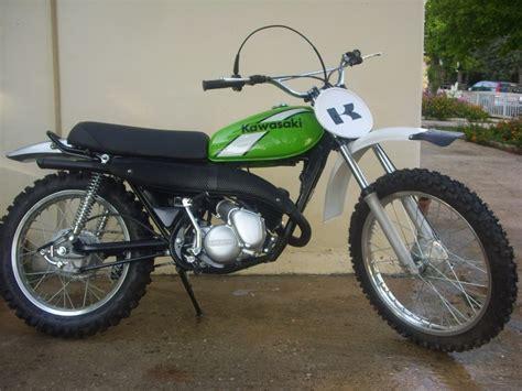 restored vintage motocross bikes for sale 1973 78 kawasaki kd125 restored vintage dirt pinterest