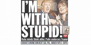 Daily News, New York Post on Palin's Trump endorsement ...