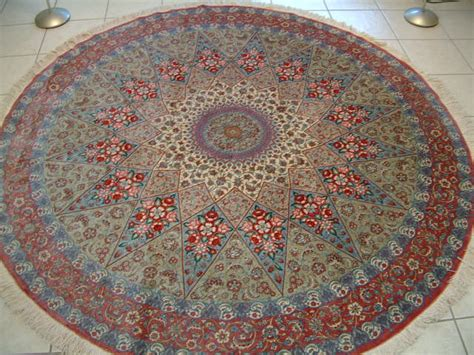 Qom Rugs by Decorating Your Kitchen And House By Adding The Round Rug