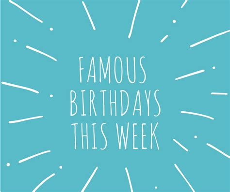 Famous Birthdays This Week  Ee   Ee   September