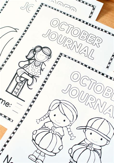 october writing journal prompts fantastic learning