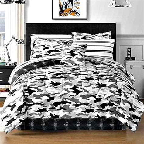 white camo comforter black and white bedding ease bedding with style
