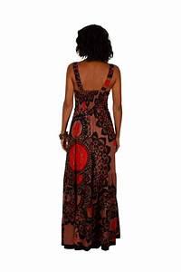 Robe Longue Style Boheme : robe longue style boh me bretelles larges en coton adrielle ~ Dallasstarsshop.com Idées de Décoration