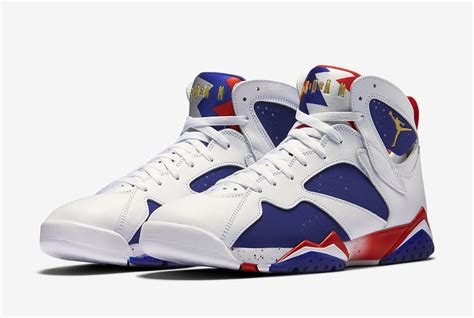 light blue shoes heels air 7 tinker alternate olympic release date