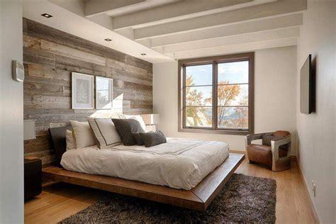 chambre en lambris papier peint chambre d 39 aspect bois 30 idées magnifiques
