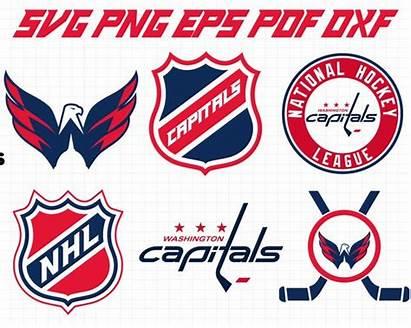 Capitals Washington Nhl Clipart Svg Hockey Cricut
