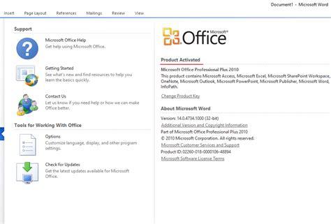 Cara mudah aktivasi microsoft office 2010 permanen secara offline tanpa membutuhkan product key. √ Cara Aktivasi Office 2010 Terbaru, Offline, Permanen WORK