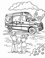 Coloring Sheets Ambulance Acadian Activity Service Downloadable Teacher Library Resources sketch template
