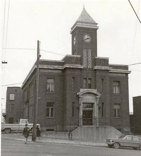 bureau de poste centre ville coin des rues canada et