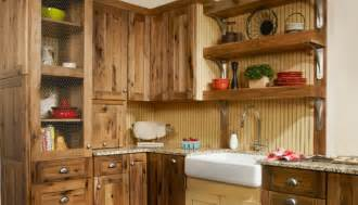 rustic kitchen furniture rustic hickory kitchen cabinets kitchen traditional with