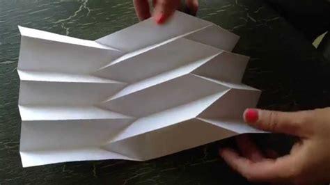 paper art  reverse folded paper youtube
