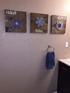 Diy wall art bathroom : Fun diy bathroom decor ideas you need right now