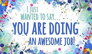 Free You're Doing an Awesome Job eCard - eMail Free ...