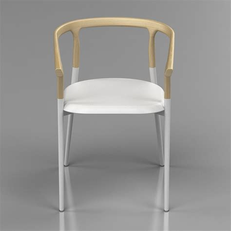 cherner armchair by 3d twig armchair by alias design high quality 3d models