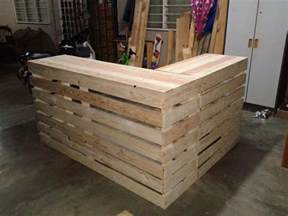 kitchen gift ideas best 25 pallet counter ideas on pallet bar