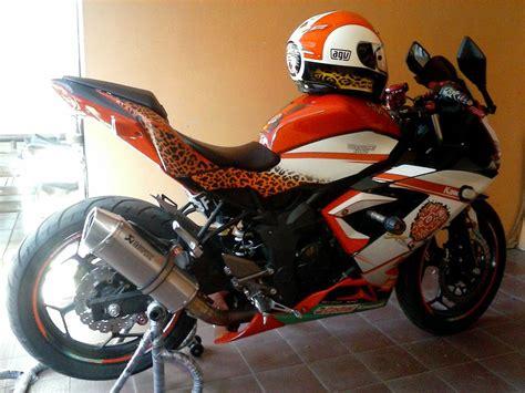 Modifikasi 250 Mono by Modifikasi Motor Kawasaki 250 Rr Mono Modif Siap