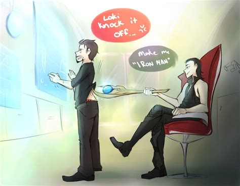 big fan knock off loki knock it off by blargberries on deviantart