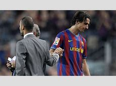 Zlatan Ibrahimovic v Pep Guardiola Their relationship in