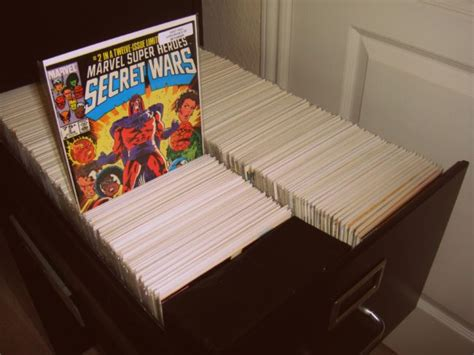 Comic Book Storage Solutions