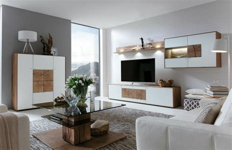 Interessante Ideen Für Moderne Schrankwände Im Wohnzimmer