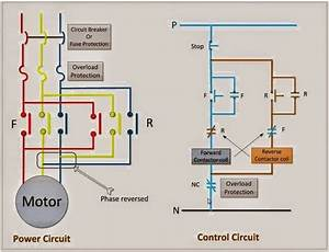 What Is A Forward Reversing Motor Control Circuit