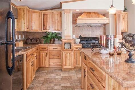 ideas hickory cabinets  naturally beautiful
