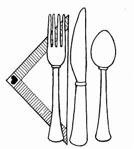 Utensils Place Setting | Mormon Share - ClipArt Best ...