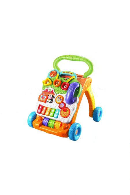 toys baby walking vtech push olds toy walker upcitemdb rated boys learning sit stand pull