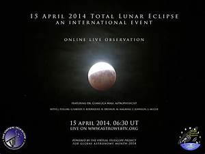 15 April 2014: Total Lunar Eclipse - live event, online ...