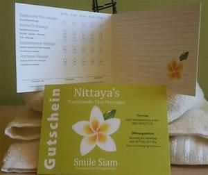 Post Leer öffnungszeiten : gutscheine nittaya s traditionelle thai massage ~ Eleganceandgraceweddings.com Haus und Dekorationen