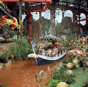 Willy Wonka & the Chocolate Factory Workshop - HOME