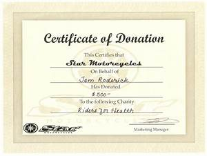 Donation certificate template certificate templates for Donation certificate template