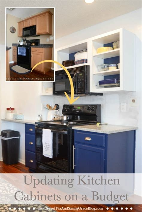 update kitchen cabinets on a budget the big reveal rustic contemporary kitchen makeover 9551