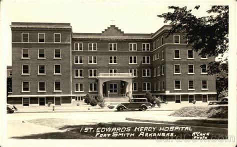 edwards mercy hospital fort smith ar postcard
