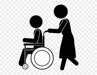 Clip Nursing Clipart Care Library Helper Caregiver