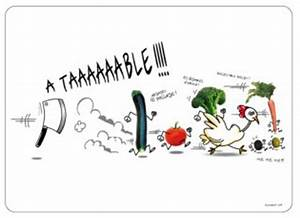 6 Sets De Table Humoristique Tous Diffrents