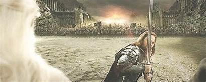Return King Scene Lord Lotr Rings Frodo