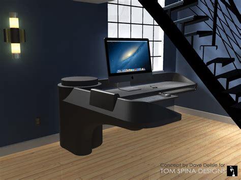 custom office desk furniture custom star trek desk inspired by movie tv sets tom