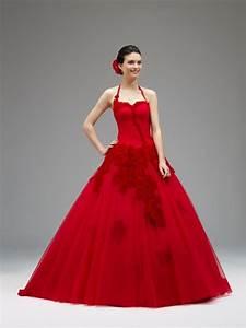 Robe Rouge Mariage Invité : robe mariage rouge le son de la mode ~ Farleysfitness.com Idées de Décoration