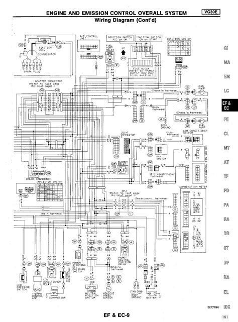 1989 Nissan Fuel Wiring Diagram by I A 1994 V6 4x4 Fuel Injected Cab Truck It Has The